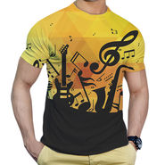 Effit Printed Casual Tshirts_Trp0604 - Yellow