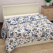 Storyathome 100% Cotton Blue  Single Topsheet -TU1419