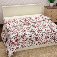 Storyathome 100% Cotton Red  Single Topsheet -TU1420