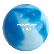 TUNTURI Fitness Balls 2 Kg - Blue