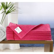 Story@Home Pack of 10 Face Towel 100% Cotton-Pink-TW1202-S