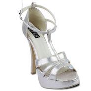 Ten Synthetic Stilettos For Women_tenbl129 - Gold