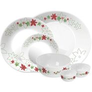 Treo Bormioli Autumn Leaf Lilian Pack of 27 Glass Dinner set   LE-TREO-002-27