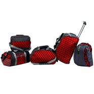 Urban Style Nylon & Polyester Travel Bag Combo Pack Of 5-Usbtk5