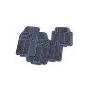 Universal Rubber Foot Mat for Car Floor - Grey