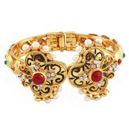 Variation Maroon Pearl Ethnic Openable Bangle_Vd13753