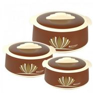 Rishabh Plast Shagun Casserole Set Of 3