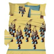 Amore Double BedSheet With 2 Pillow Cover-VKNS001