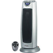 VOX (PTC02) Remote Controlled PTC Tower Heater - Silver