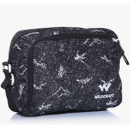 Wildcraft Polyester Black Sling Bag -sw06