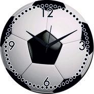 meSleep Football Wall Clock With Glass Top-WCGL-01-41