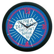 meSleep Diamonds Wall Clock (With Glass)-WCNW-01-20