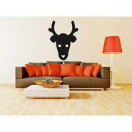 Animal face Decorative Wall Sticker-WS-08-023