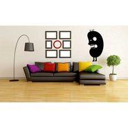Black Cartoon Decorative Wall Sticker-WS-08-128