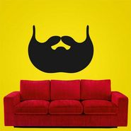 Black Face Wall Sticker-WS-08-159
