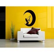 Black Angel Decorative Wall Sticker-WS-08-186