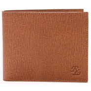 Walletsnbags Leon Leather Wallet - Brown_W 40- TN