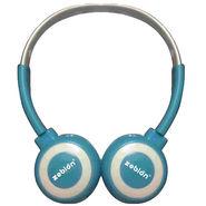 Zebion U 'N' Hue -100 Blue Headphone (Blue & White)