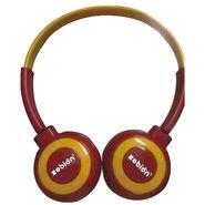 Zebion U 'N' Hue -100 Red Headphone (Red & Yellow)