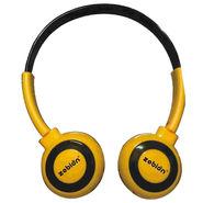Zebion U 'N' Hue -100 Yellow Headphone (Yellow & Black)