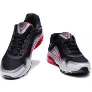 Nike Airmax Sports Shoes - Black & Red nk03