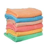 Banarsi Das Set of 6 Pure Cotton Bath Towels-bdt001