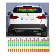 Equalizer Pattern Car Music Rhythm LED Light Sheet For Car Rear Window