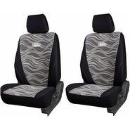 Branded Printed Car Seat Cover for Hyundai i10 - Black