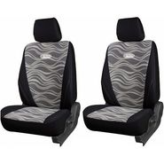 Branded Printed Car Seat Cover for Toyota Fortuner - Black