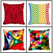 Set Of 4 Pigment Digitally Printed Cushion Covers-cd-4Pigment