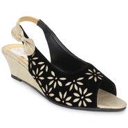 Do Bhai Suede  Sandals  classic-Golden