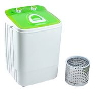 DMR 46-1218 Single Tub 4.6Kg Mini Washing Machine with Steel Dryer Basket Yellow