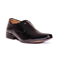 foot n style Patent  leather Formal Shoes - Brown