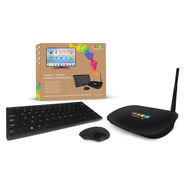 iREVO Smart Mini PC, Quad Core, 1GB 16GB, Wifi, Bluetooth, free Microsoft Office and Wireless Keyboard & Mouse - Android 4.4.2