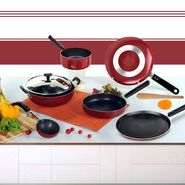 Brilliant 7pcs Nonstick Cookware Set