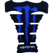 Monster Blue Tank Pad for Bike