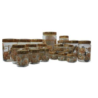 Jai pet Naturewood Combo 19 Pcs Set - 6Pcs pet jars Small Size Combo Pack