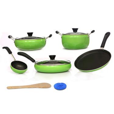 10 Pcs Designer Non Stick Cookware Set