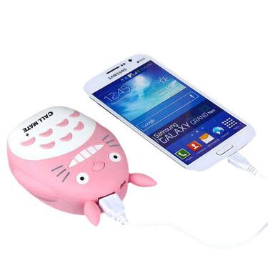 Callmate Power Bank Cat Teeth 8000 mAh - Pink
