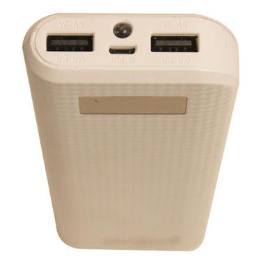 Callmate Power Bank Long LCD 16500 mAh - White