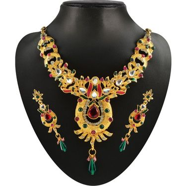 Kriaa Combo of 6 Jewellery Set With Free Payal & Earring & Ring