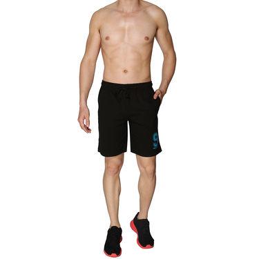 Chromozome Regular Fit Shorts For Men_10296 - Black