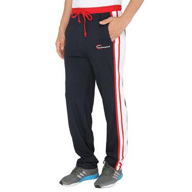 Chromozome Regular Fit Trackpants For Men_10420 - Navy