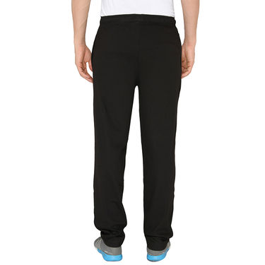Chromozome Regular Fit Trackpants For Men_10430 - Black