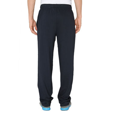 Chromozome Regular Fit Trackpants For Men_10445 - Navy
