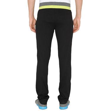 Chromozome Regular Fit Trackpants For Men_10475 - Black