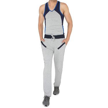 Chromozome Regular Fit Trackpants For Men_10504 - Grey