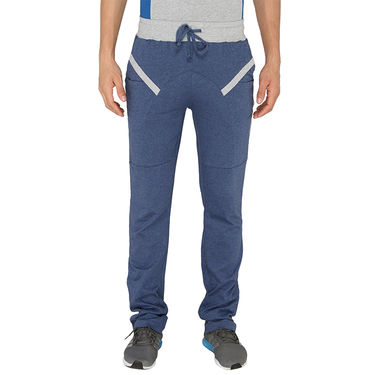 Chromozome Regular Fit Trackpants For Men_10509 - Blue