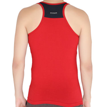 Chromozome Regular Fit Vest For Men_10589 - Red & Navy