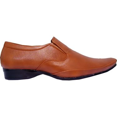 Branded Tan Formal Shoes - 1115D